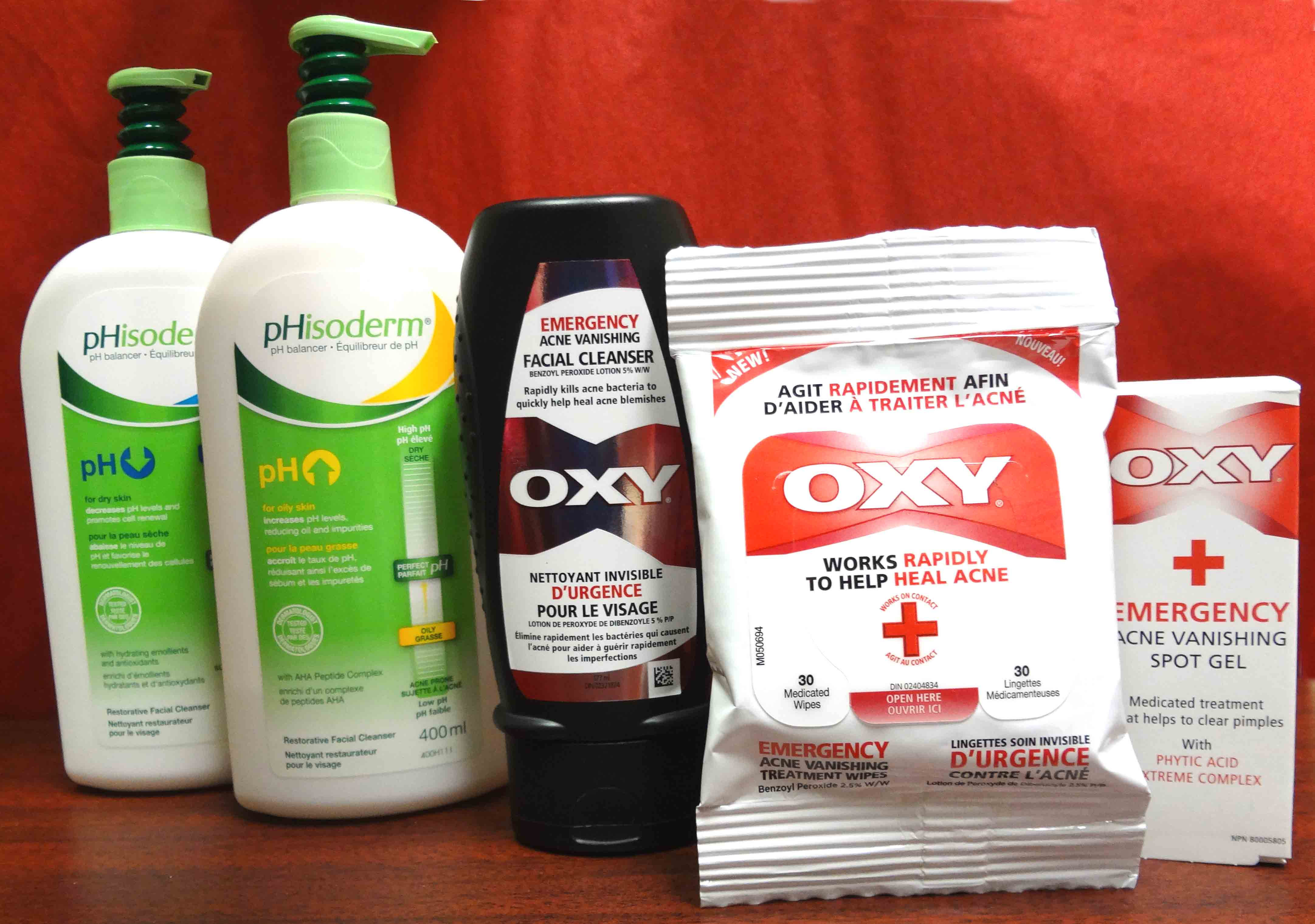 Win an OXY Prize Pack ARV $50 {Canada}