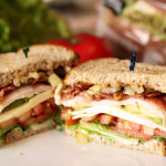 Dinner Recipe: Turkey Club Deluxe #DIYSandwich