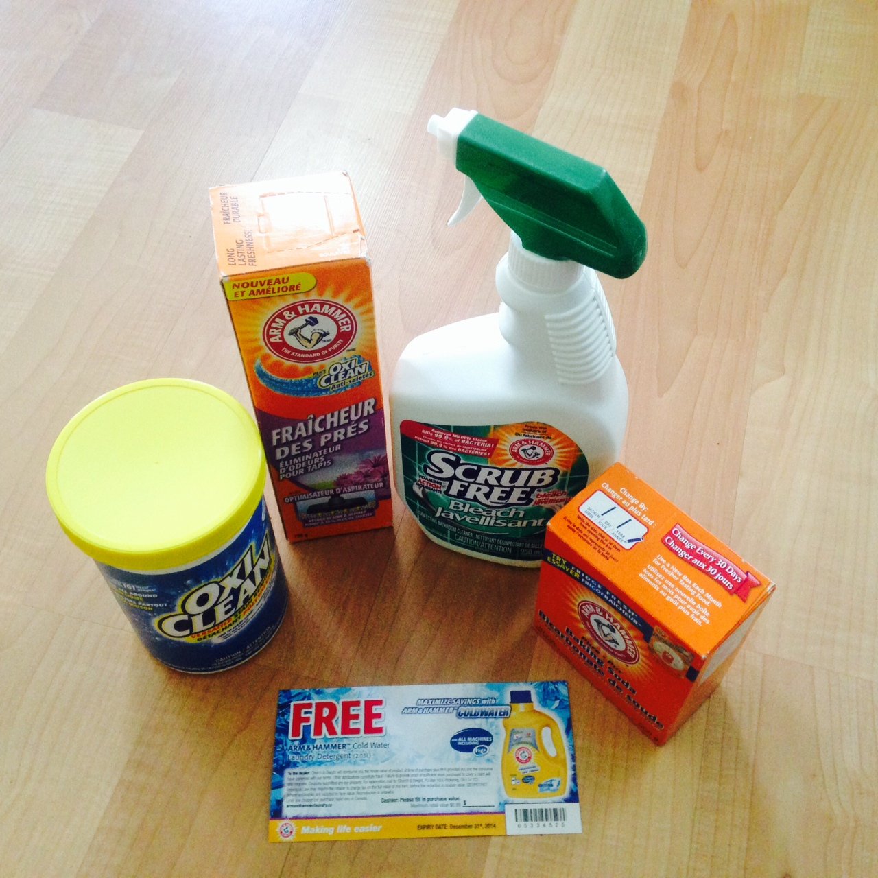 Win a Spring Cleaning Prize Pack {Canada}