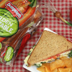 Picnic Recipe: Vegetable Egg Salad Sandwich #DIYSandwich