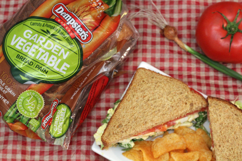 Picnic Recipe: Vegetable Egg Salad Sandwich