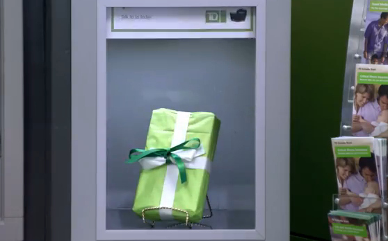 TD thanks customers in a very surprising way #TDThanksYou