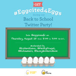 Join the #Eggcited4Eggs Twitter Party Aug. 28th 8pm