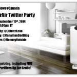 Join the #PurifyYourAir Twitter Party Sept 15th 8pm EST