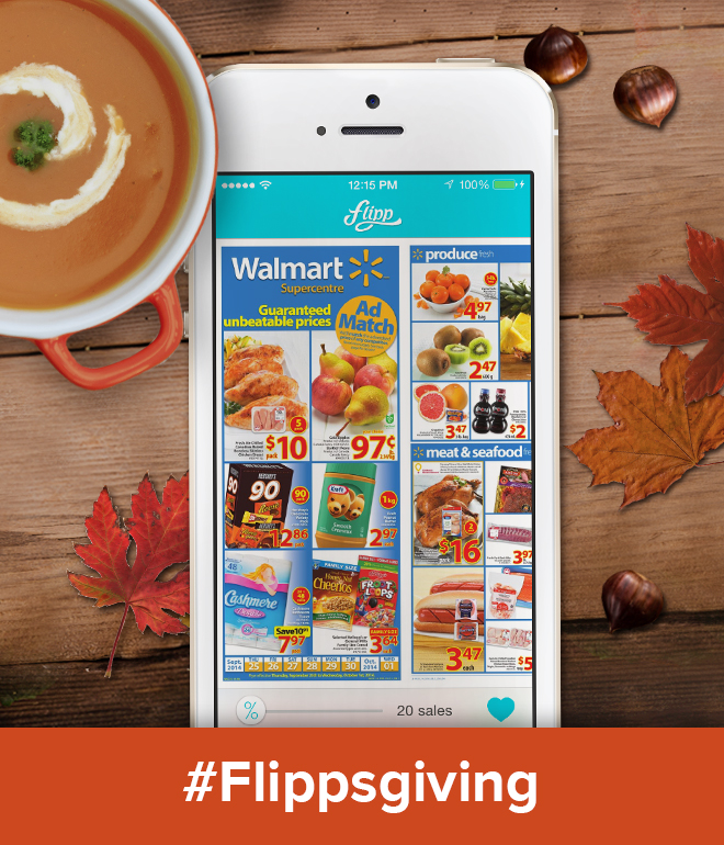 Find Fabulous Thanksgiving Deals on Flipp #Flippsgiving