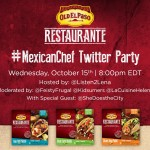 Join the #MexicanChef Twitter Party Oct. 15th 8pm EDT