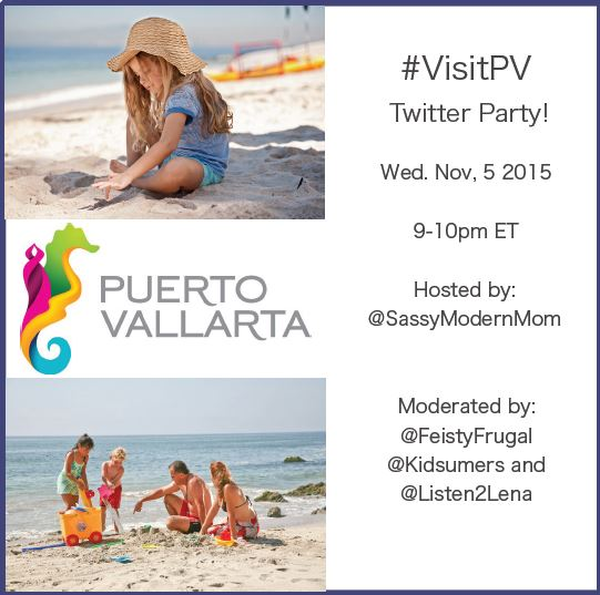 Join Another Fantastic #VisitPV Twitter Party! Nov. 5th 9pm ET