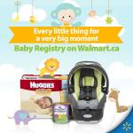 Announcing the New Baby Registry at Walmart