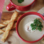 Soup Recipe: Cream of Mushroom #CarnationSoups