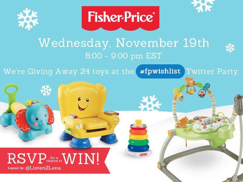 Join the #fpwishlist Twitter Party Nov. 19th 8pm EST