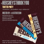 Join the #HersheysThankYou Twitter Party Dec. 18 at 1pm EST