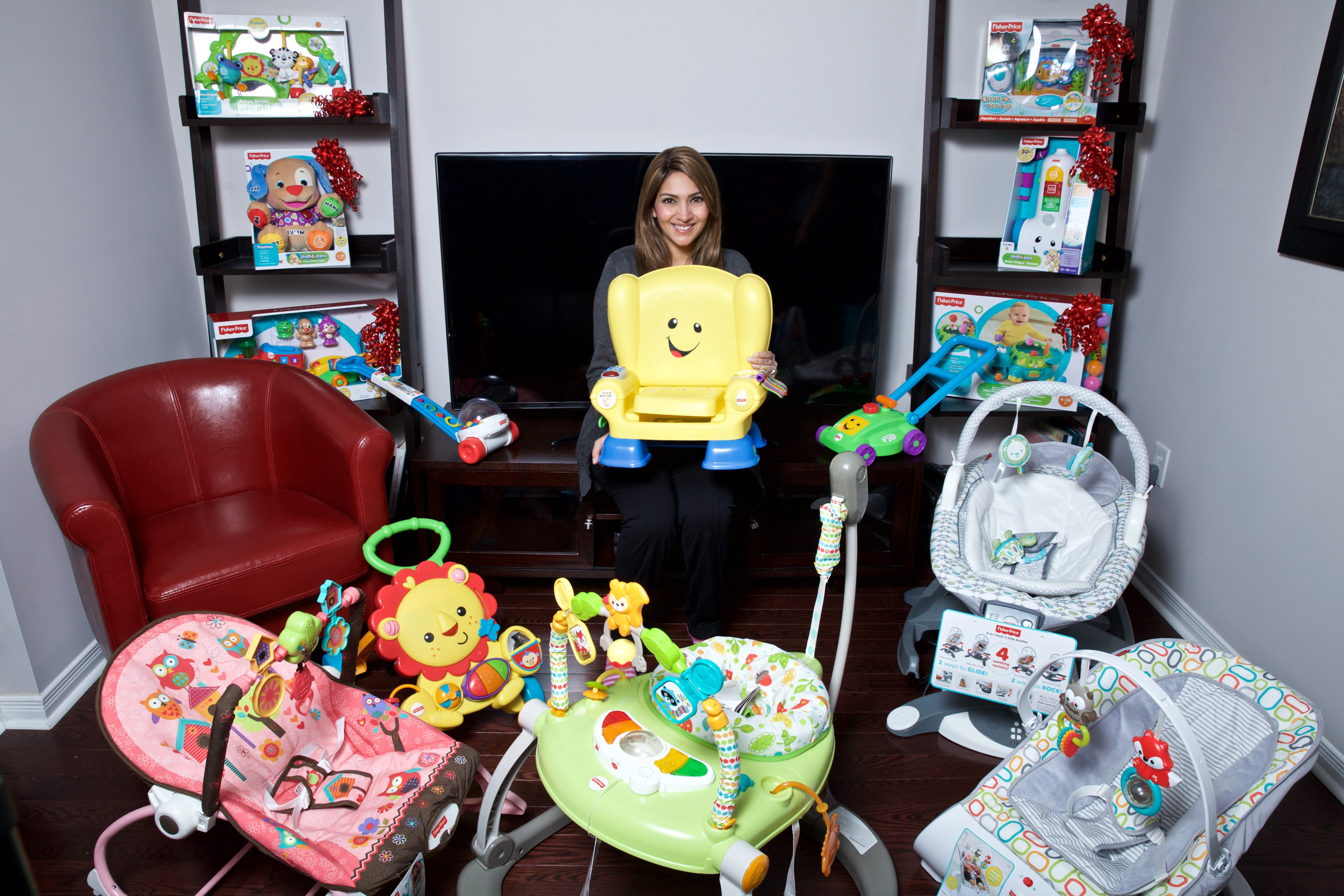 Food, Friends and Fisher Price #fpshowroom