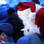 Finding Santa at 8000 Feet #SantaFlight