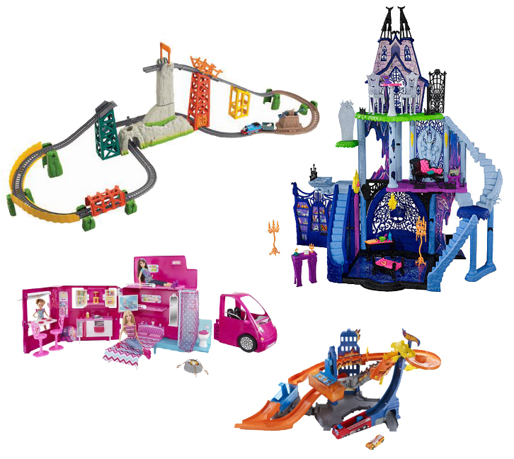 Win a Huge Mattel Prize Pack ARV $364 #MattelHoliday
