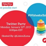 Join the #WishesforBaby Twitter Party Jan. 12th 8pm EST