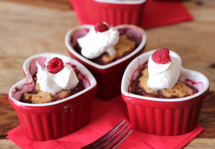 Valentine's Day Recipe: Raspberry Cobbler