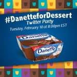 Join the #DanetteforDessert Twitter Party Tues. Feb. 10th at 8pm EST