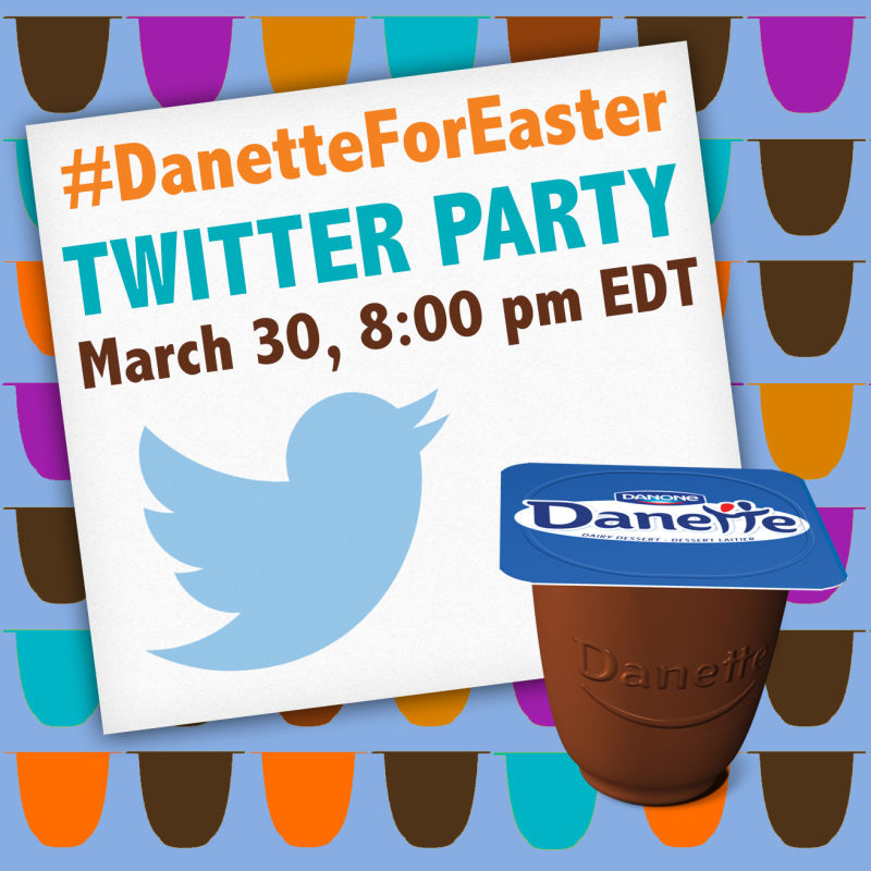 Join the #DanetteForEaster Twitter Party March 30th at 8pm EDT