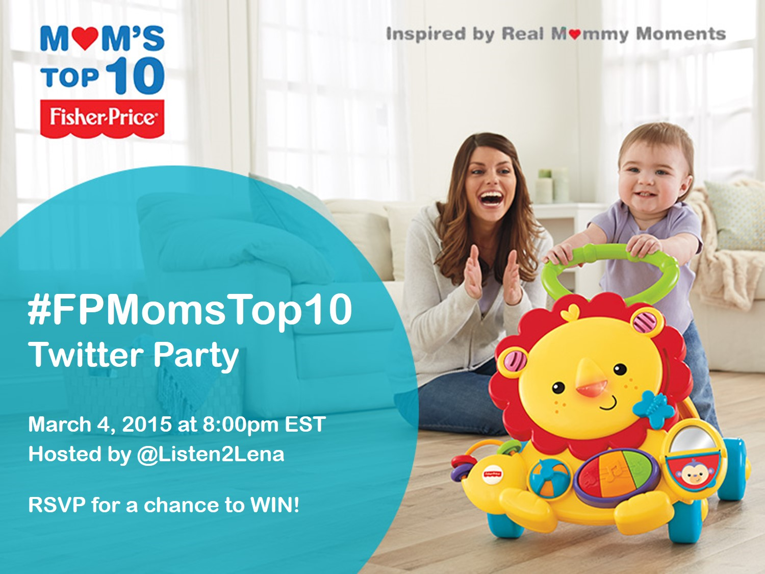 Join the #FPMomsTop10 Twitter Party March 4th 8pm EST