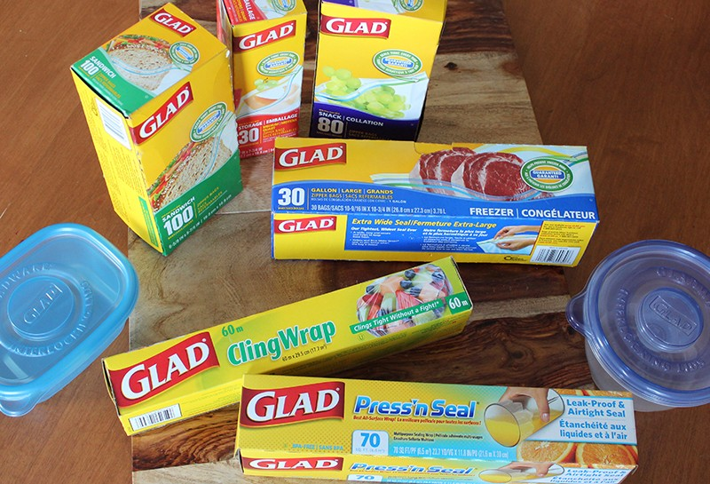 Fresh food, easy storage and life hacks with Glad