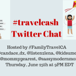 Join the #TravelCash Twitter Chat June 25th 9PM EDT