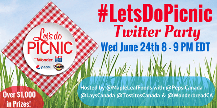 #LetsDoPicnic Twitter Party Image a