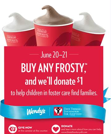 Buy a Frosty, Create a Family #Wendyscanada