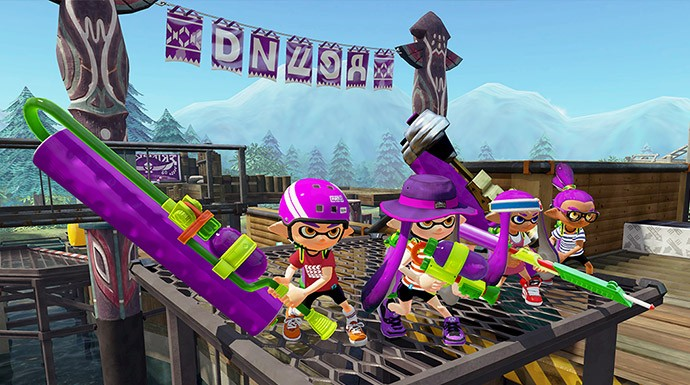 Find family-friendly action packed fun with Splatoon