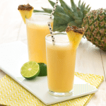Enjoy Summer Afternoons with a Pineapple Chiller