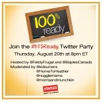 Join the Staples Back to School Twitter Party