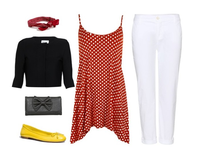 Disney Bounding: Casual Minnie Mouse