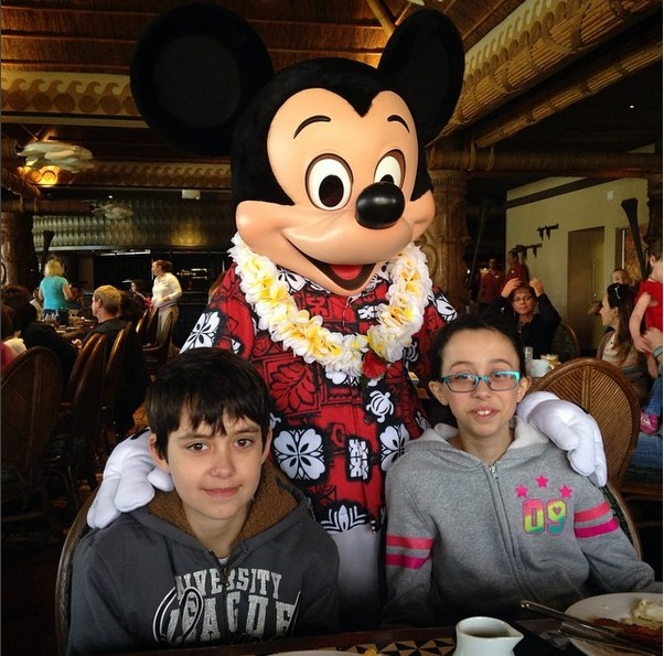 Wordless Wednesday: Mickey at O'Hana