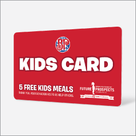 $5 Boston Pizza Kids Cards are Back!