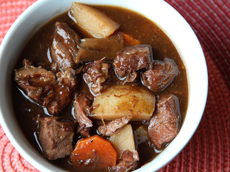 Quick & Easy Tender Slow-Cooked Beef Stew
