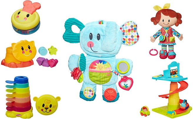 Let baby play anytime and anywhere with Playskool