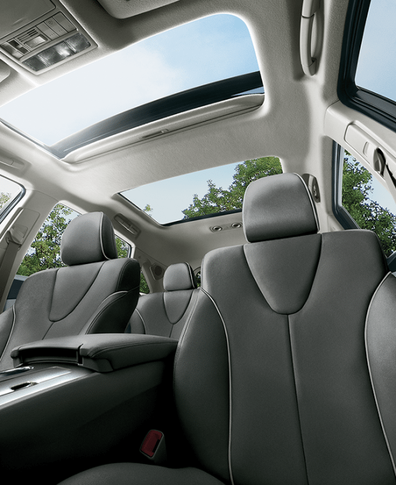 2016 venza sunroof