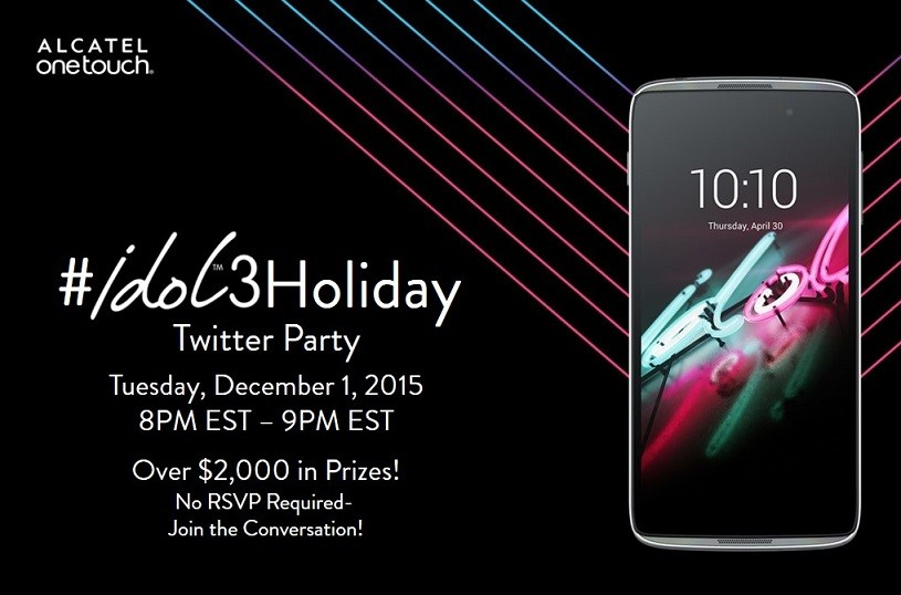 Join the #idol3Holiday Twitter Party Dec. 1st 8pm EST
