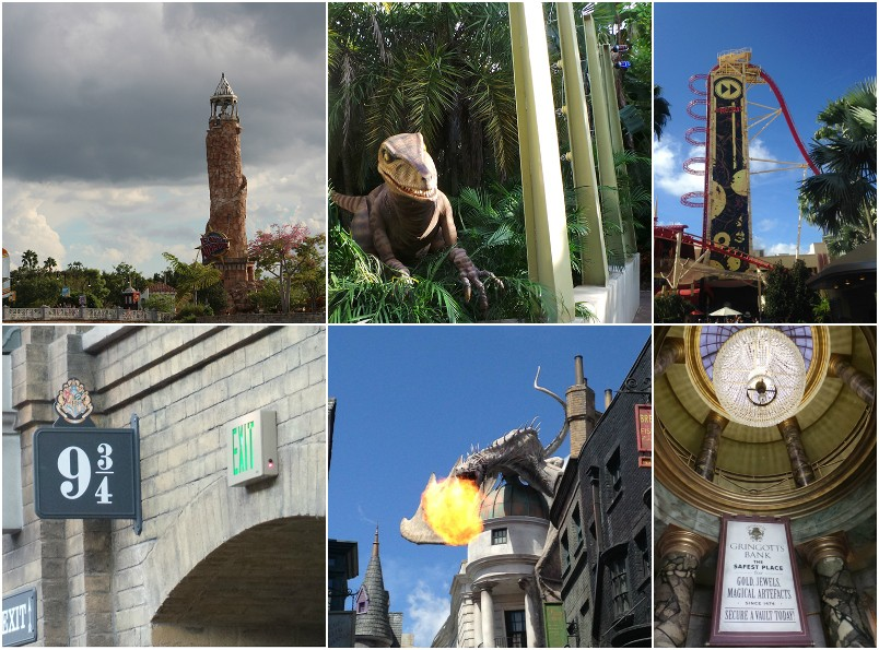 Facing Fears at Universal Studios Resorts