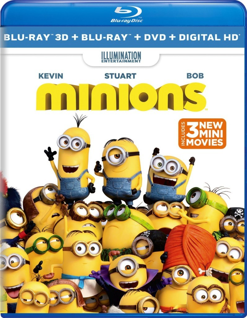 Enjoy the Minions again on their own feature film