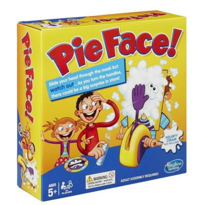 Win a Pie Face game #PlayLikeHasbro #KidsumersGifts2015