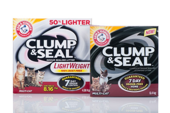 clump and seal litter