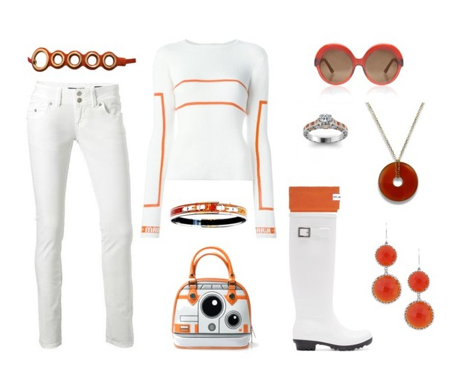 A BB8 Disney Bound for the Star Wars Fans