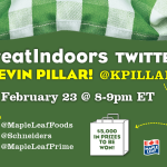 Tweet with Kevin Pillar from the Blue Jays!