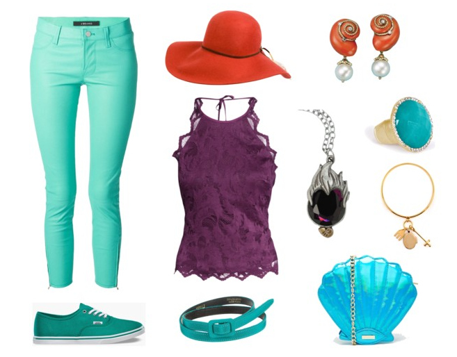 Get your Mermaid on with this Ariel Disney Bound