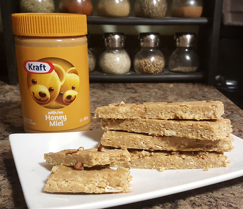 No-Bake Peanut Butter Protein Bar Recipe