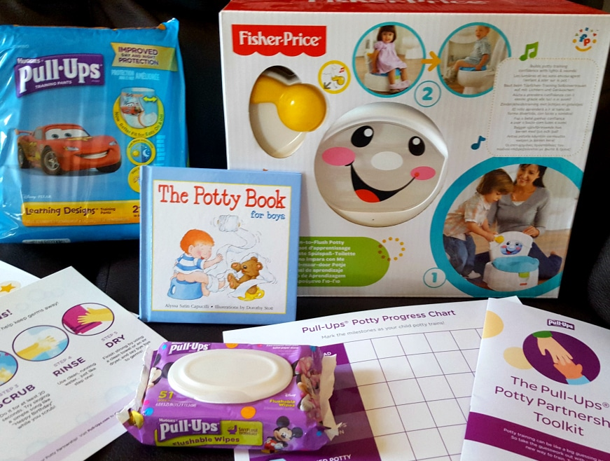 Win a Pull-Ups® Potty Partnership Toolkit