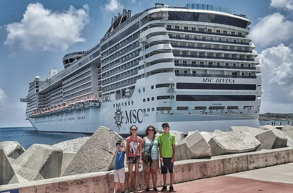 Oceans of Fun Aboard the MSC Divina for a Family Cruise