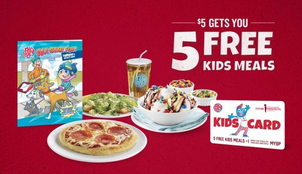 Boston Pizza Kids Cards Benefit All Kids