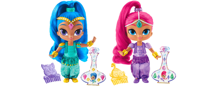 Win a Shimmer or Shine Doll ARV $10