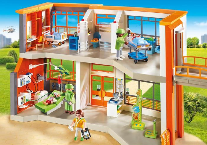 Win a Playmobil City Life Hospital